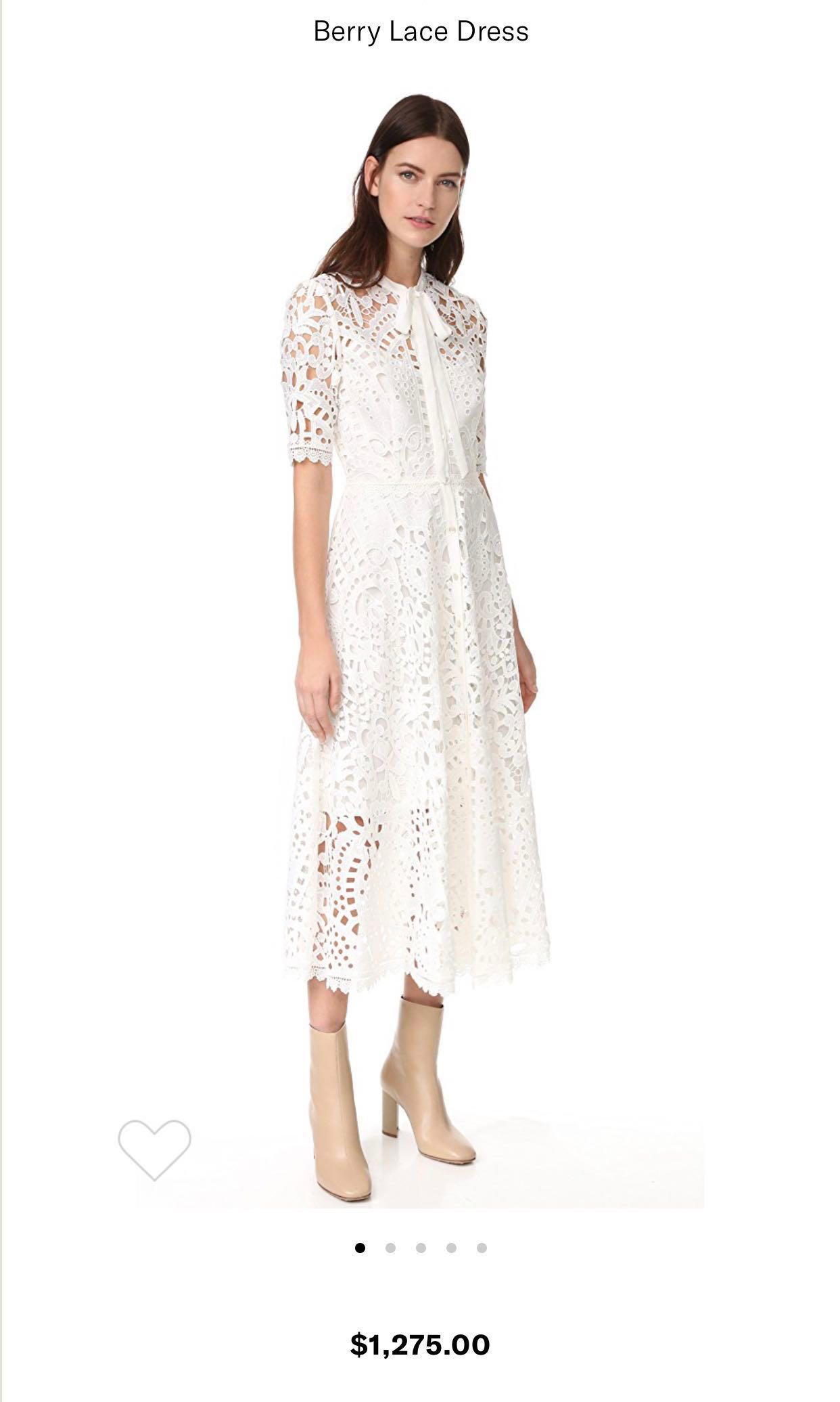 d8757ec86b90 Authentic Stunning Temperley London Berry Lace Dress