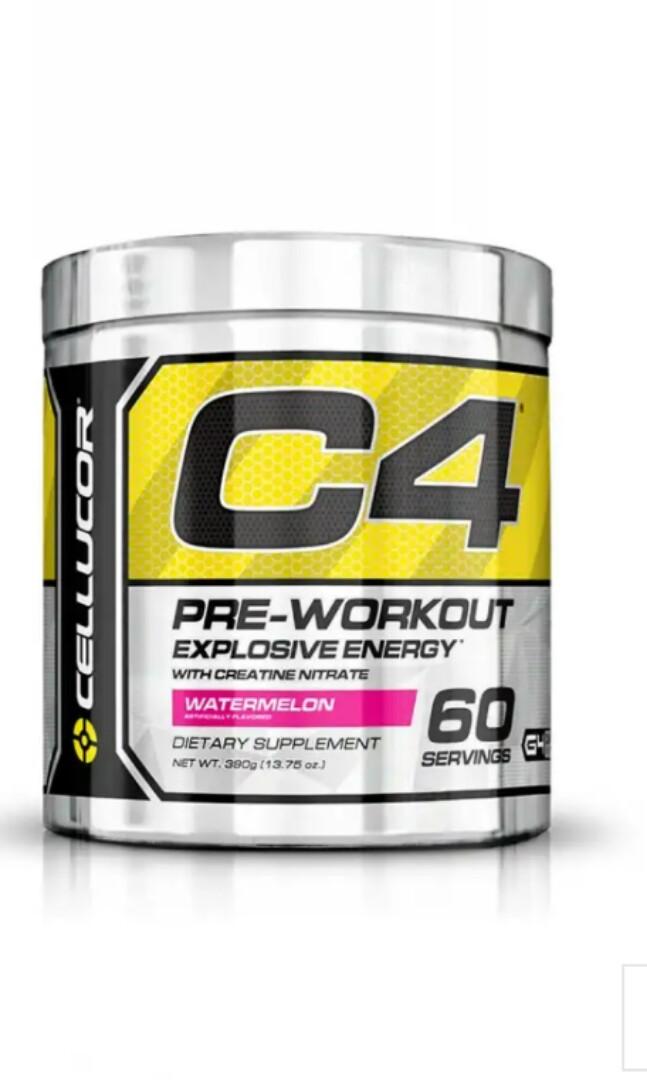 Cellucor C4 Pre Workout 60 Serving Last 2 Sports Sports