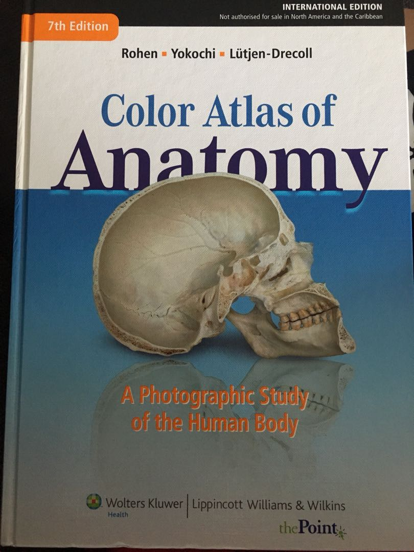 Colour Atlas Of Anatomy Textbooks On Carousell
