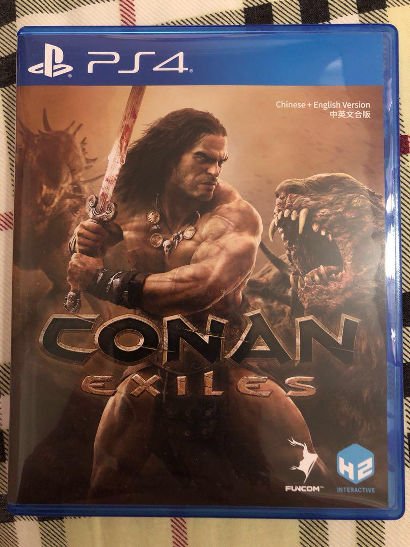 Conan exiles PS4, Toys & Games, Video Gaming, Video Games on