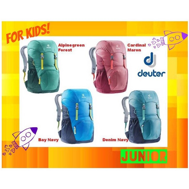 c076d9222fe Deuter JUNIOR Backpack, Luxury, Bags & Wallets, Backpacks on Carousell