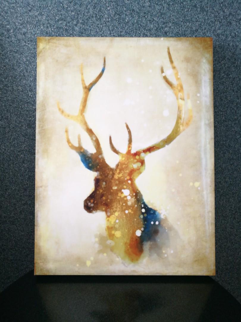 Dreamy Deer Painting