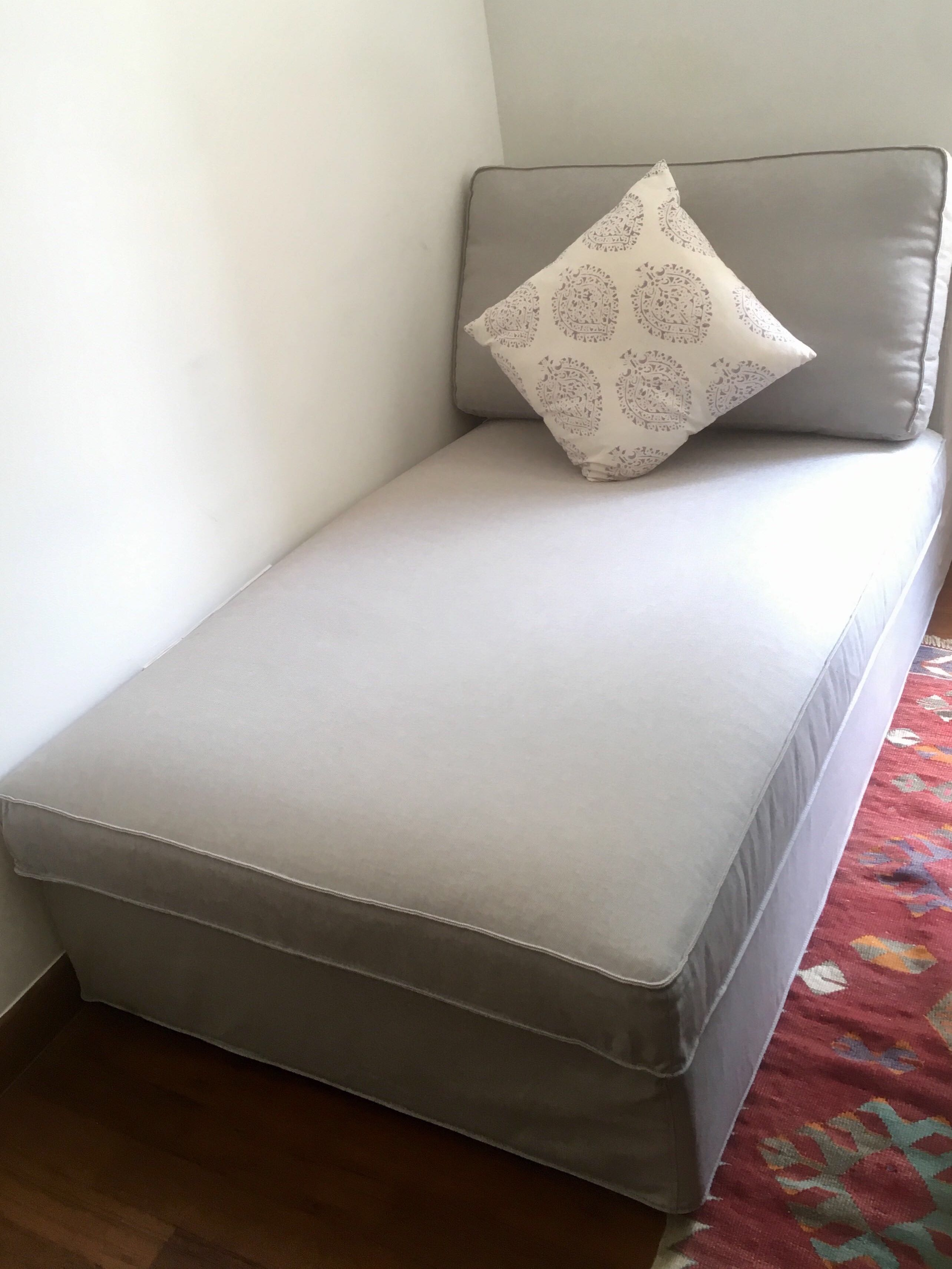 Futon Sofa Bed Chaise Longue Furniture Sofas On Carousell