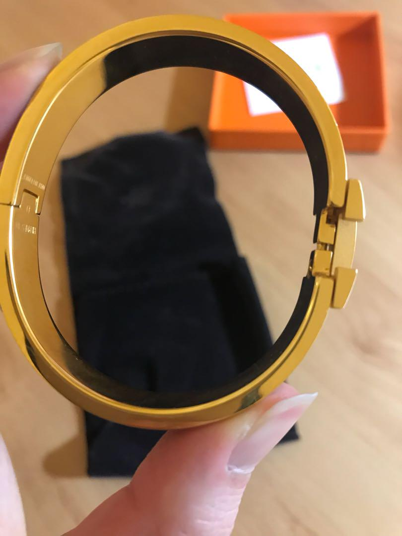 Hermes original clic bracelet