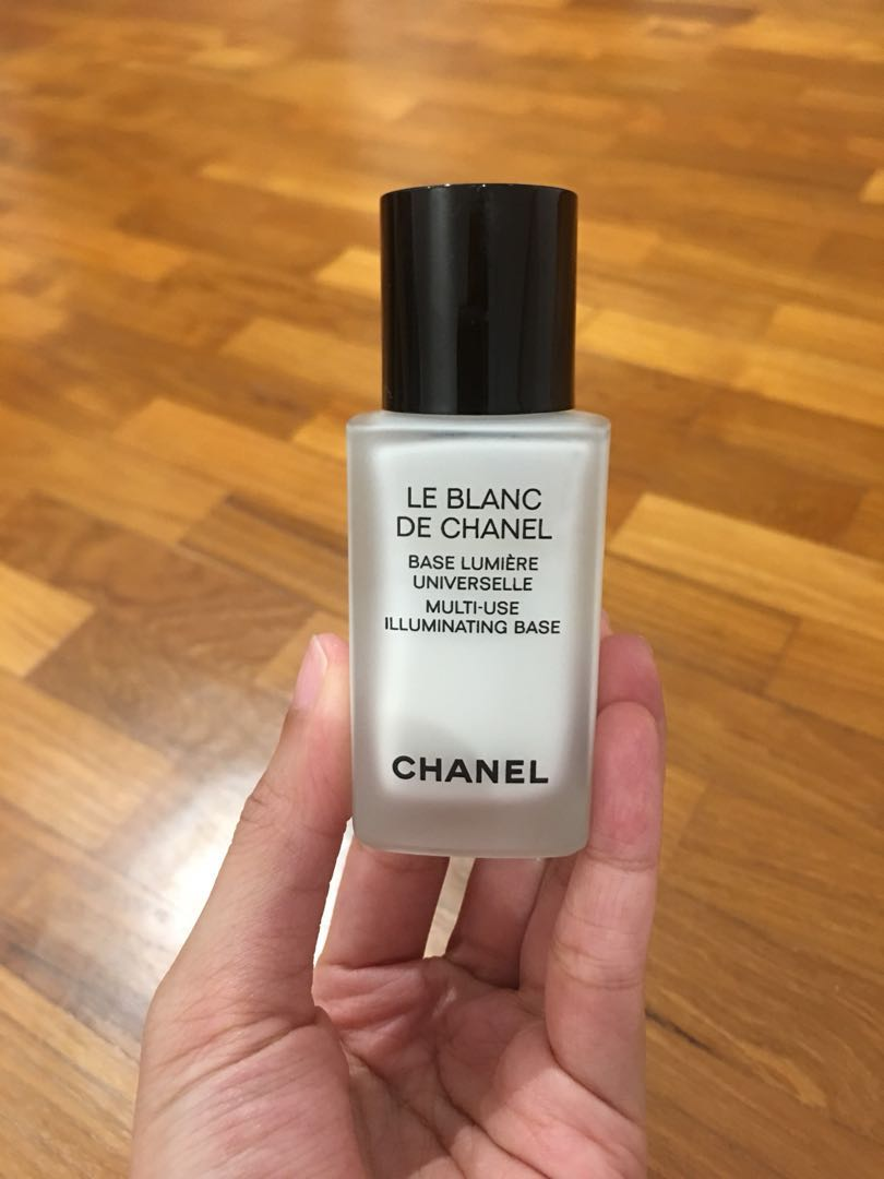Le Blanc De Chanel Multi Use Illuminating Base 30ml Health Beauty Makeup On Carousell