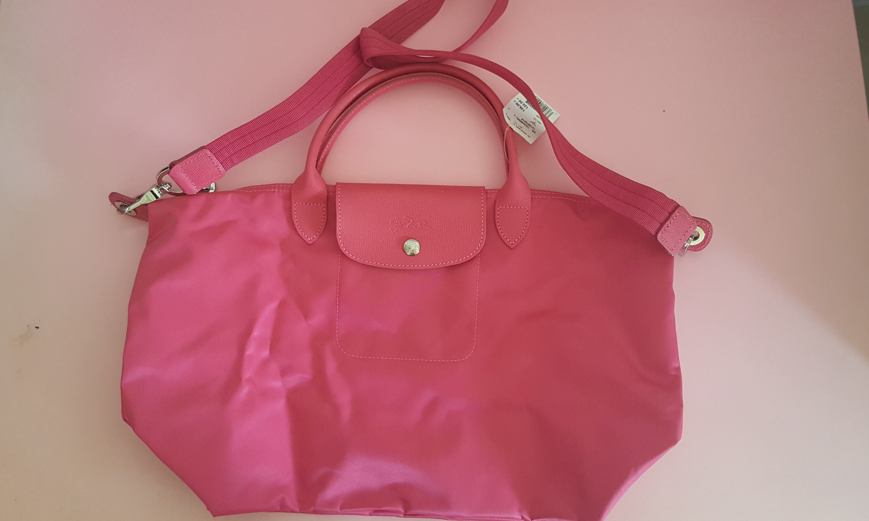bb537dcd070b Longchamp Sling Bag- Fuschia pink