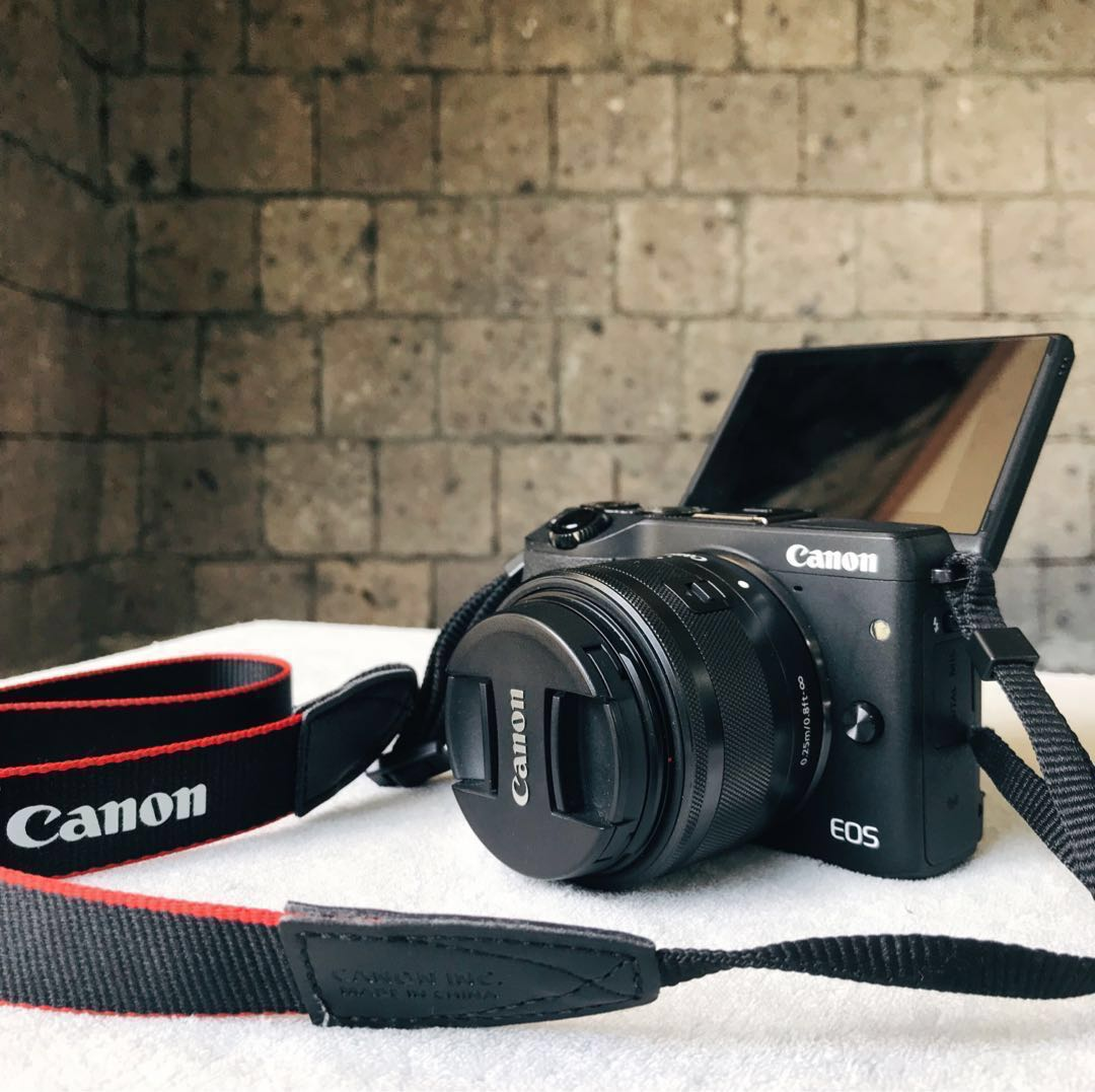 Mirrorless Canon Eos M3 Photography On Carousell Kit Ef M15 45mm Kamera