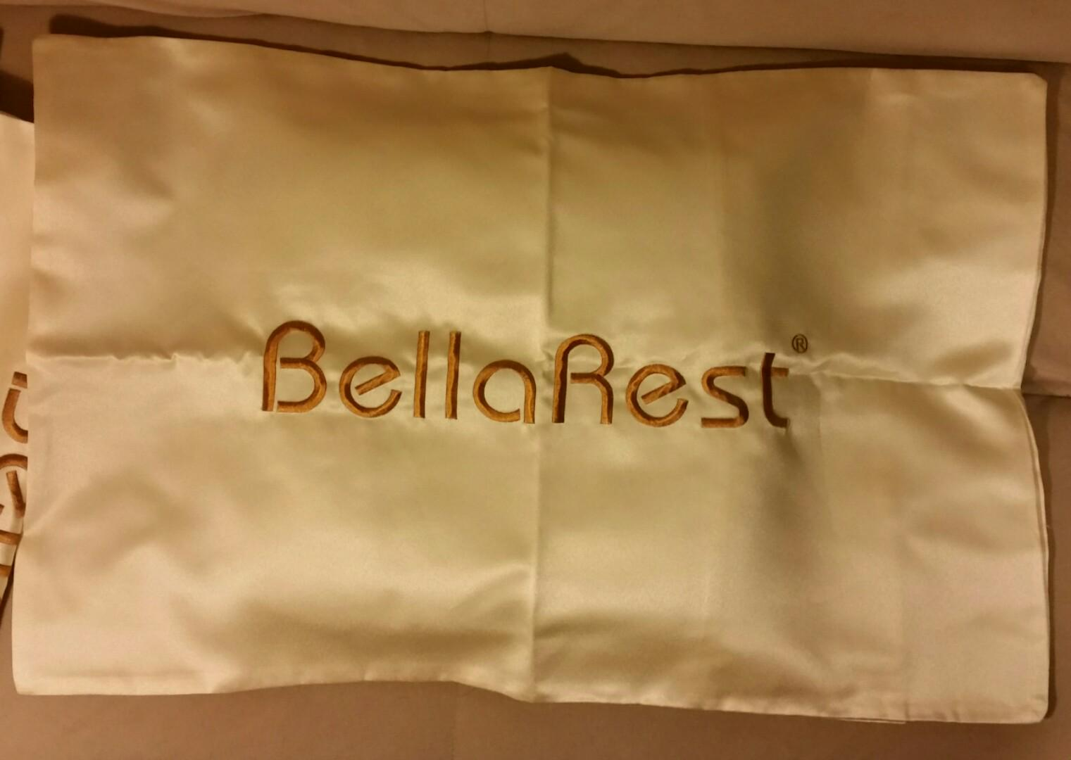 New 5 Queen Pillow Cases 4 Long Cushion Cases Golden Thick Silky Soft!
