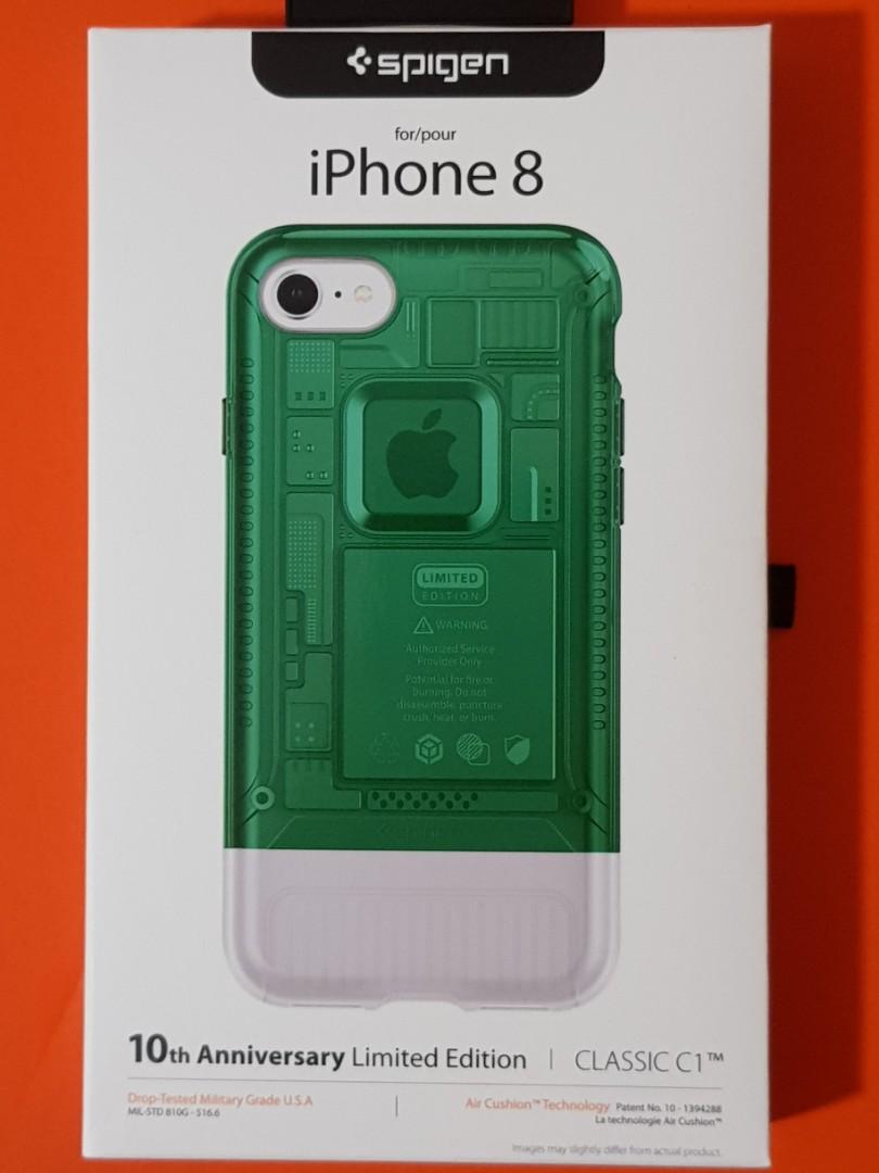 size 40 4bfa7 dc3ad New authentic Spigen C1 Case for iPhone 8 - Sage