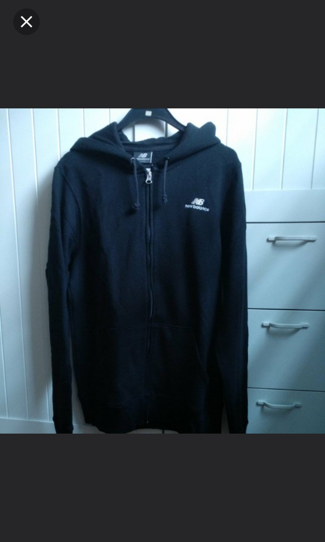 1c1298cdc83f5 New balance black hoodie outwear top, Men's Fashion, Clothes, Outerwear on  Carousell