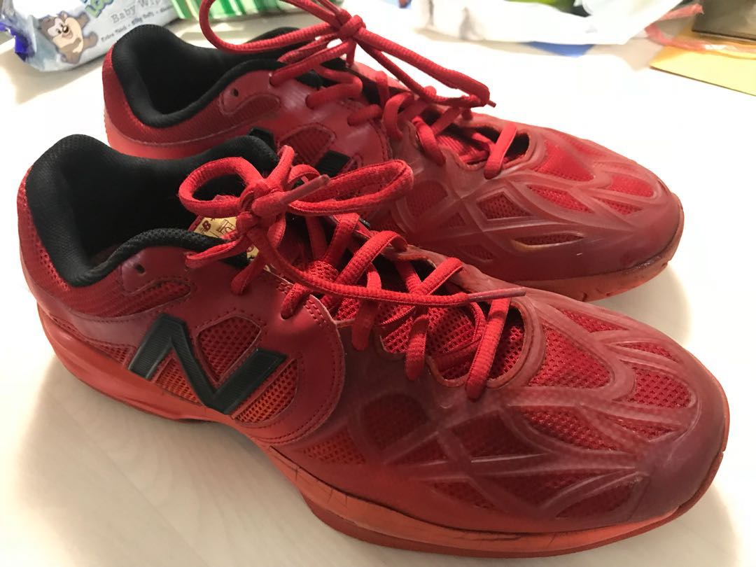 ef28f13d49a798 New balance France 996 Tennis Shoes Red