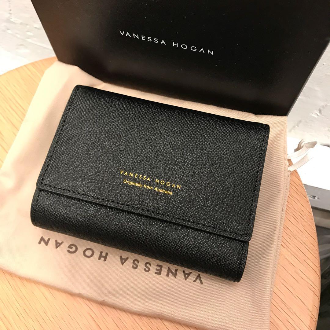 978f4977cb New Vanessa Hogan wallet black 黑色錢包銀包, Luxury, Bags & Wallets on Carousell