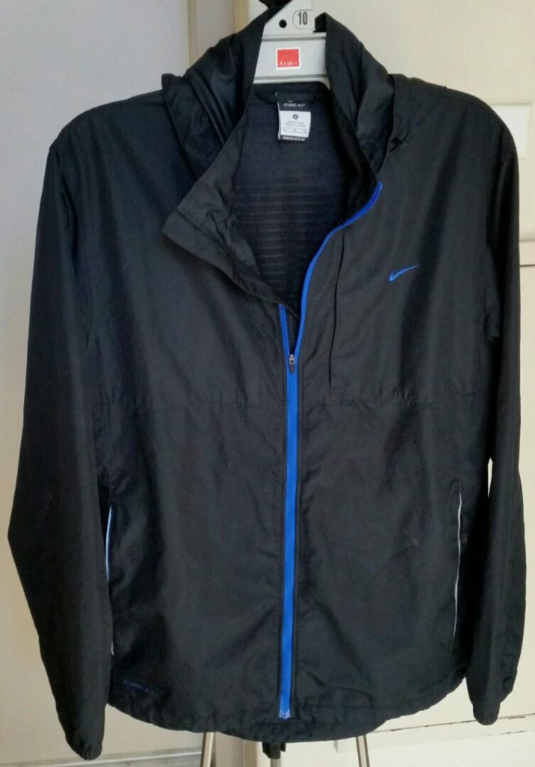 001f14cb Nike Storm Fit Weather Proof Hooded Sport Jacket XL Gr8, Men's ...