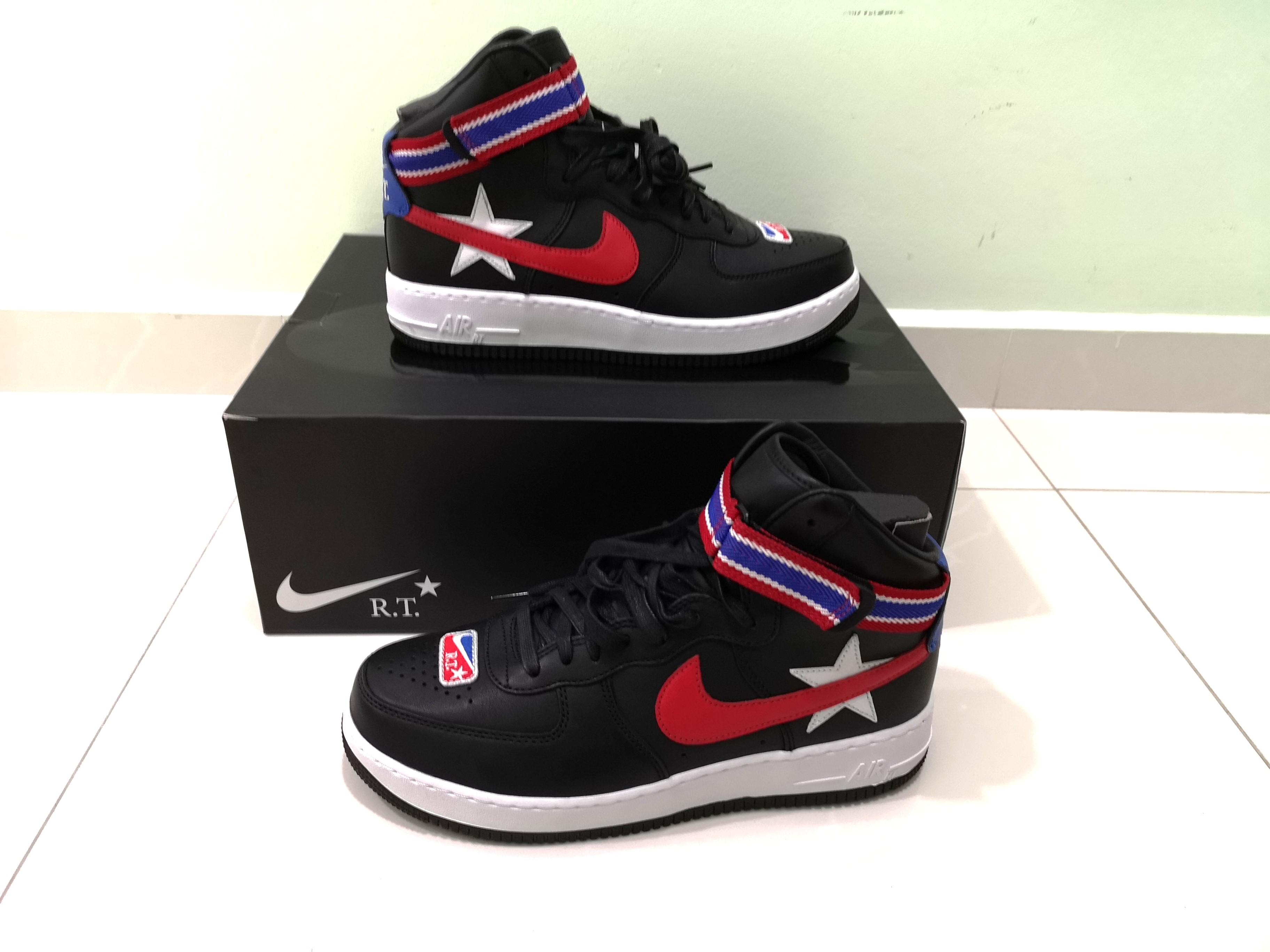 quality design 00ec2 abfe9 NikeLab x RT Air Force 1 High Size US 9.5, Men s Fashion, Footwear ...