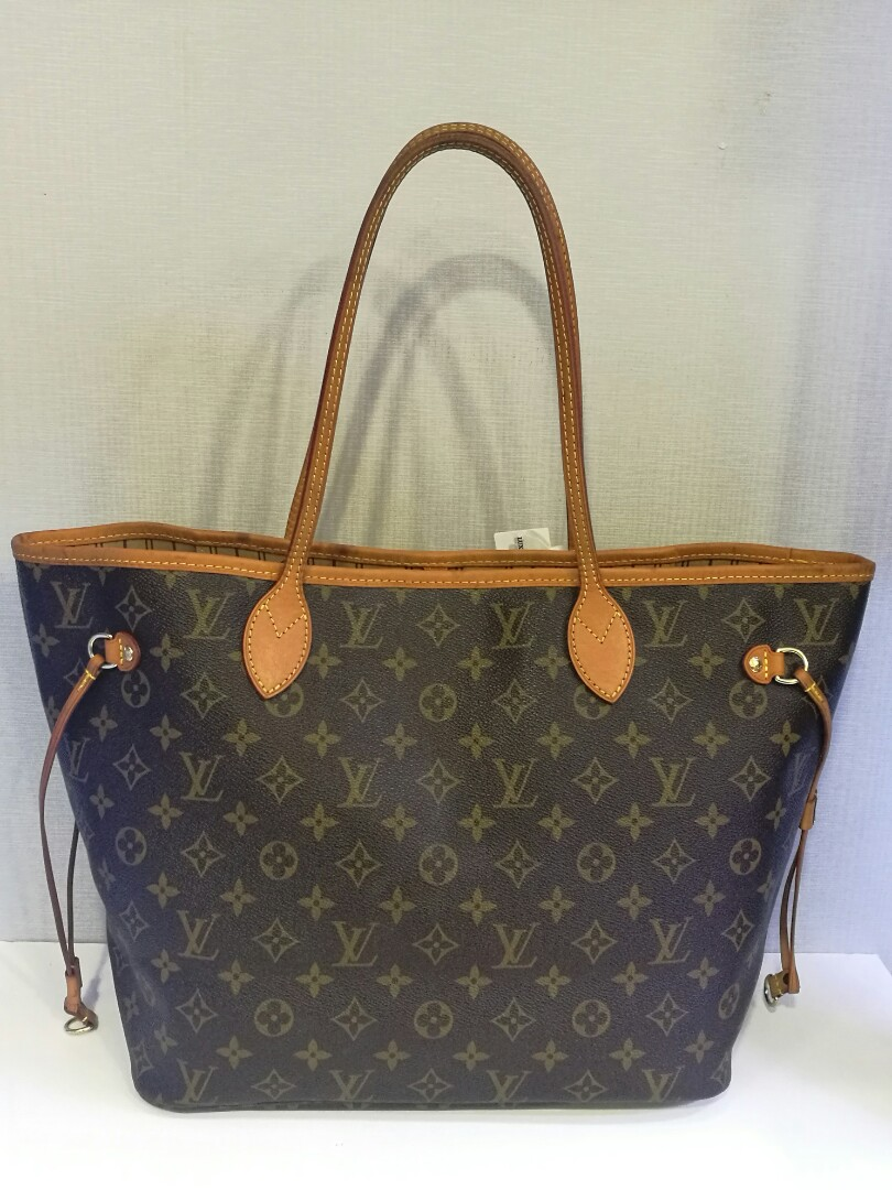 863e13d6bbd9 Preloved Authentic Louis Vuitton Neverfull