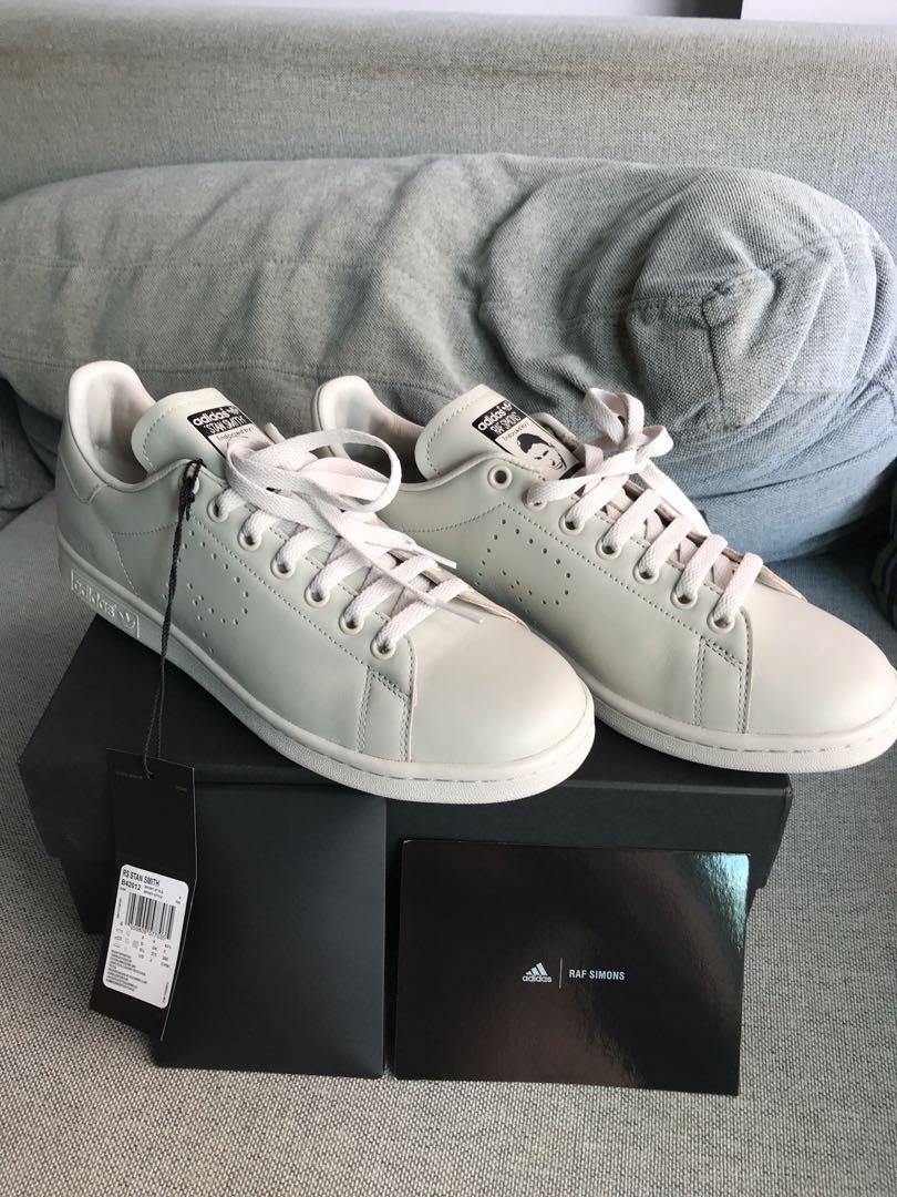 93a81b372 RAF SIMONS Adidas Originals Stan Smith Stone Leather Sneakers