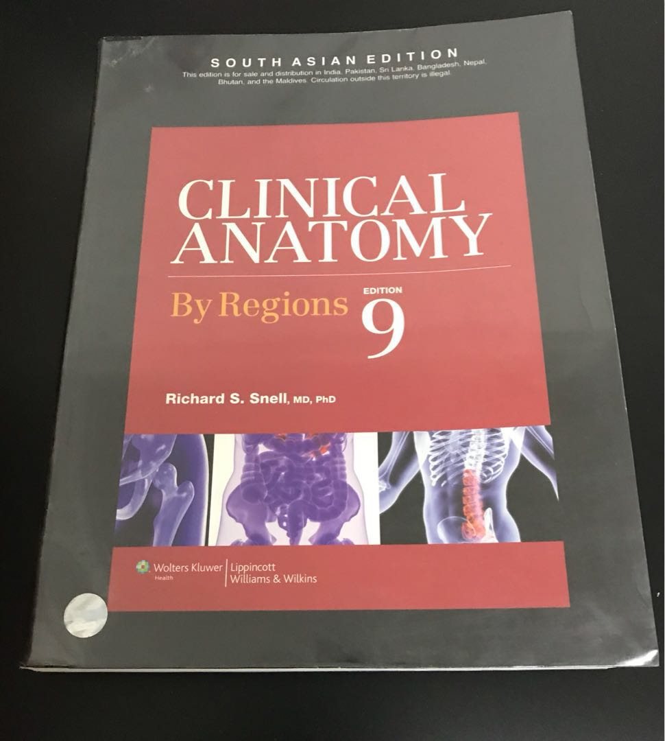 Snells Clinical Anatomy By Region Textbooks On Carousell