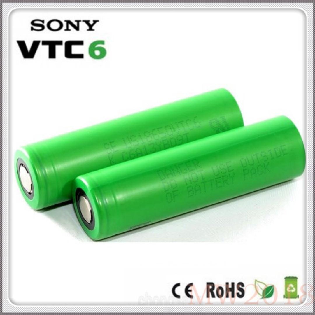 Sony VTC6 18650 Li-Ion Rechargable Battery