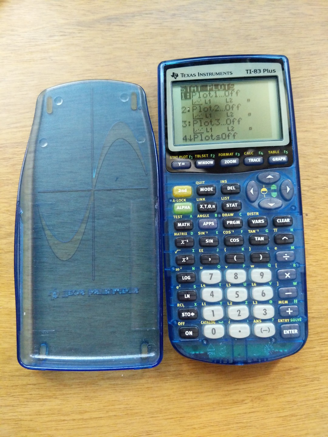 TI 83 Plus Calculator With New Battery Electronics Others On