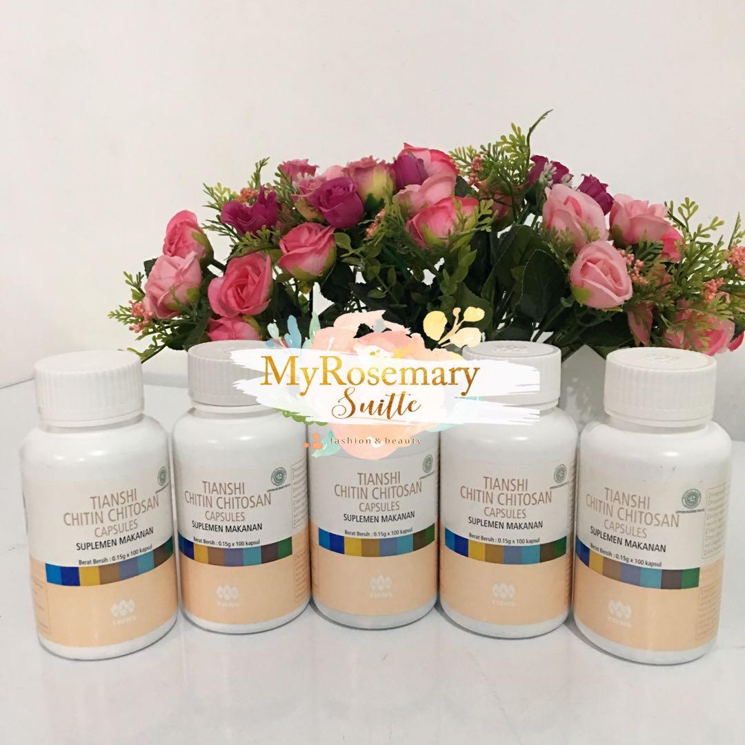 Tiens Chitin Chitosan Anti Diabetes Dan Kolesterol 100 Kapsul Tianshi Paket Peninggi Badan Silver Zinc Nutrient Calcium Powder Nhcp Kalsium Dewasa Herbal Ab1 Photo