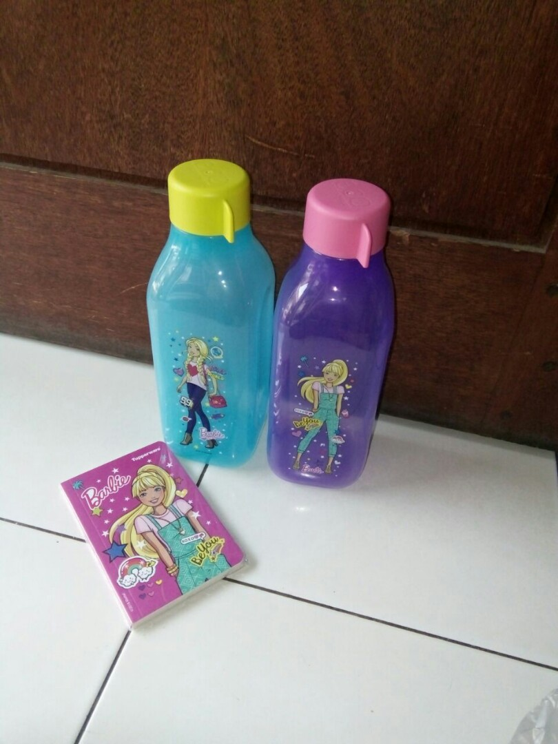 Tupperware Eco Barbie 1lt Home Furniture On Carousell Bottle 1 Liter Set Isi 2 Pcs