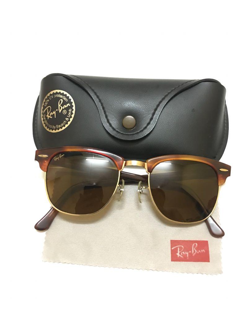 04023bd8b2 ... shopping vintage rayban clubmaster blonde tortoise gold fesyen lelaki  e0c18 ad0d5