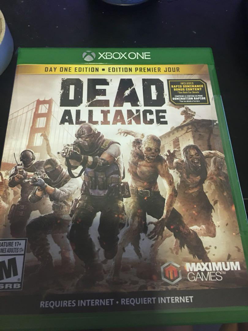 X BOX ONE DEAD ALLIANCE