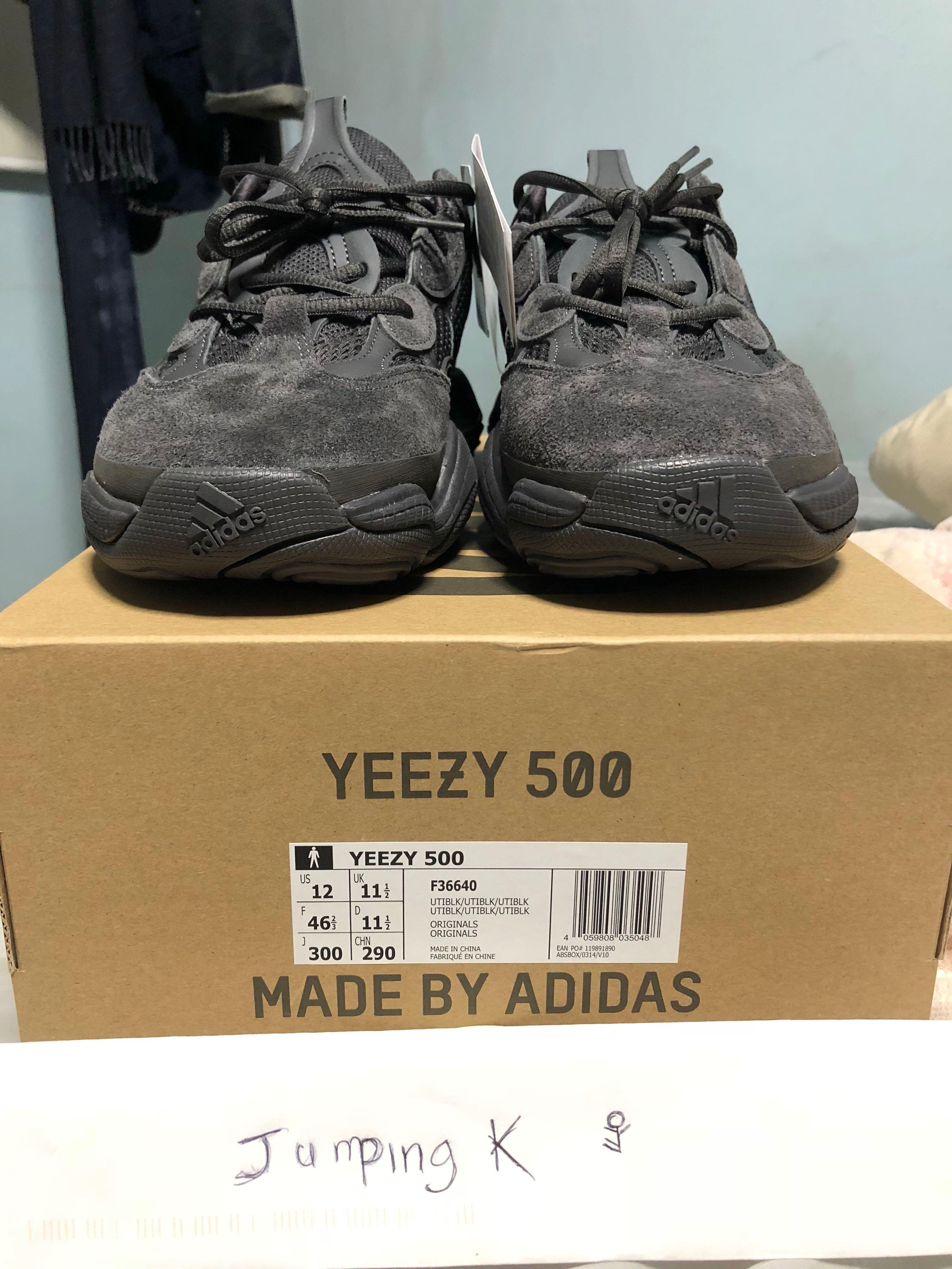 Yeezy 500 Utility Black 7a7c1d4fd