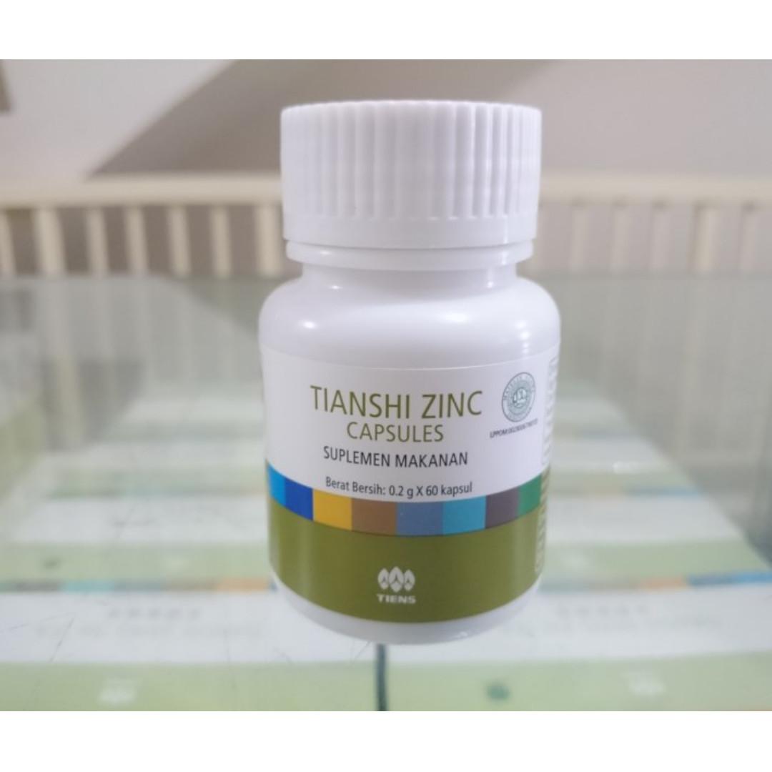 Zinc Capsules Tiens Kesehatan Kecantikan Kulit Sabun Tubuh Di Original Carousell