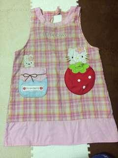 Authenic Sanrio Hello Kitty Apron