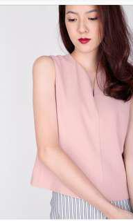 AFA Vicky Crop Top in pink