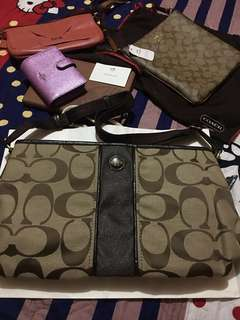 BRANDNEW WITH TAG AUTHENTIC COACH 2 in 1 BAG