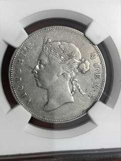 1894 半圆 美品 VF+