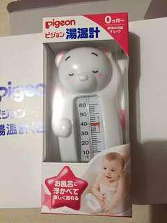 🇯🇵日本代購🇯🇵 Pigeon 小白熊嬰兒洗澡水溫計
