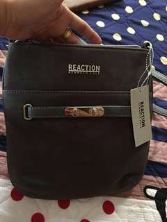 BRANDNEW KENNETH COLE REACTION SUEDE SLING BAG