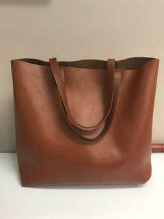 Madewell Leather The Transport Tote