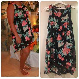 Ardene summer floral dress Large size