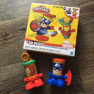 Play-Doh Marvel Iron Man and Captain America