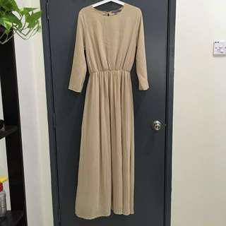 Poplook Penny Chiffon Dress