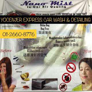 Nano-Mist / Fogging Treatment For Your Vehicle