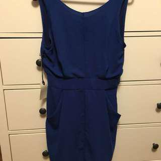 Wilfred colbalt blue dress