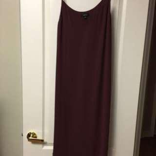 Babaton silk slip dress