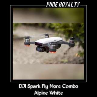 DJI Spark Fly More Combo Alpine White