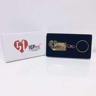 🚚 SG51 NDP Special edition keychain by Singapore Mint