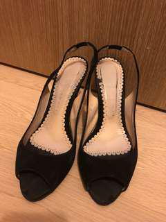 Australia brand Robert Robert black high heels shoes