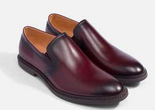 Classic Loafer in Burgundy VENEZIA LEATHER