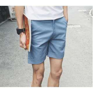 🚚 $8 BN Blue Cuffed Chino Shorts In Size L