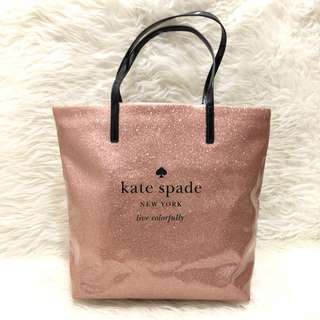 Kate Spade Drive Sparkly Rose Gold Original