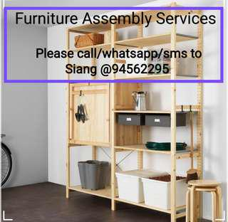 Handyman Installation/Assembly/Dismantle of Furniture