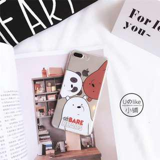 🚚 [INSTOCK] BN We Bare Bears Casing for iPhone 6+
